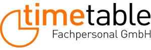 Job von timetable Fachpersonal GmbH