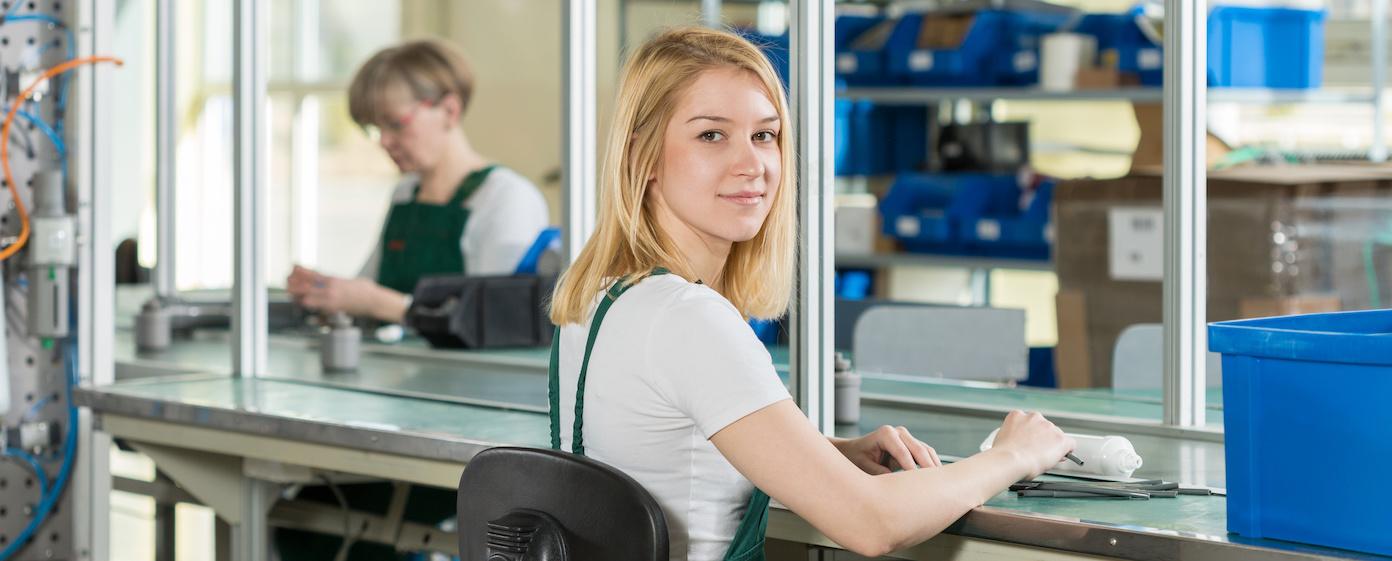 Header für Mitarbeiter (m/w/d) Qualitätskontrolle
