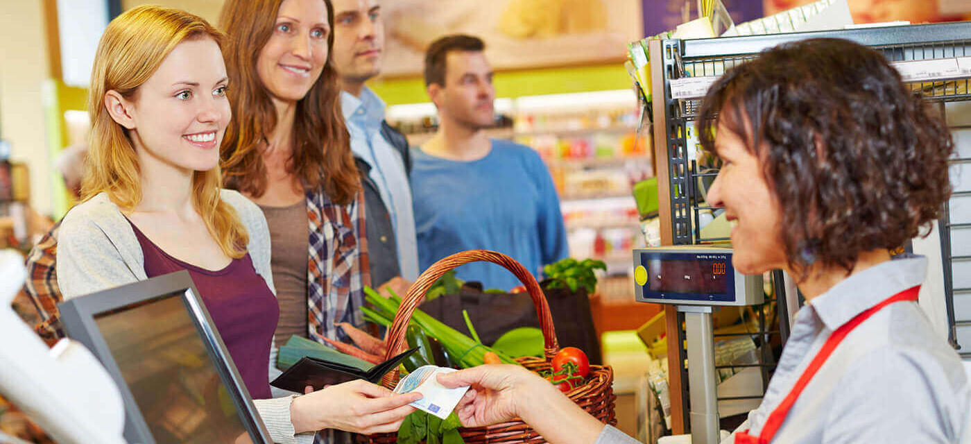 Header für Kassierer (m/w) für führende Einzelhandelskette
