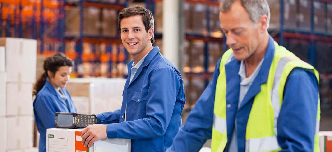 Header für Mitarbeiter in der Lagerwirtschaft (m/w/d)