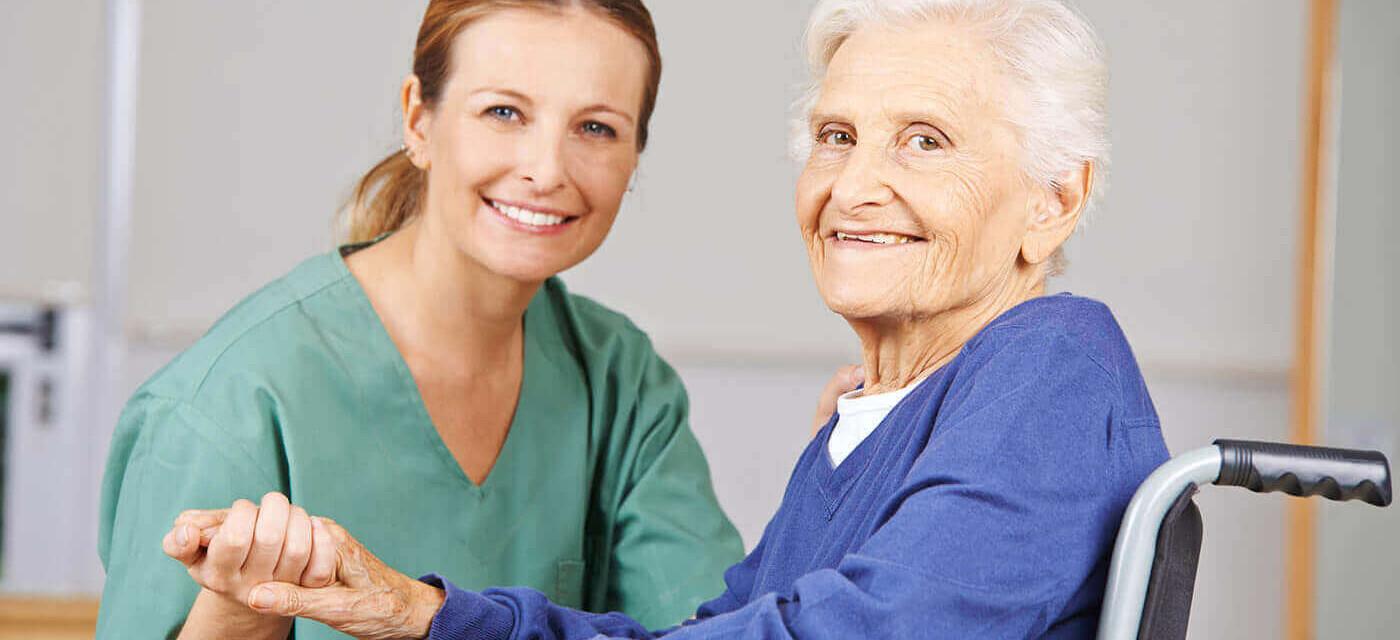 Header für Pflegehelfer (m/w) ÜBERTARIFLICHE BEZAHLUNG + Fahrgeld + Zulagen