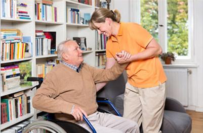 Seniorenbetreuung Bild